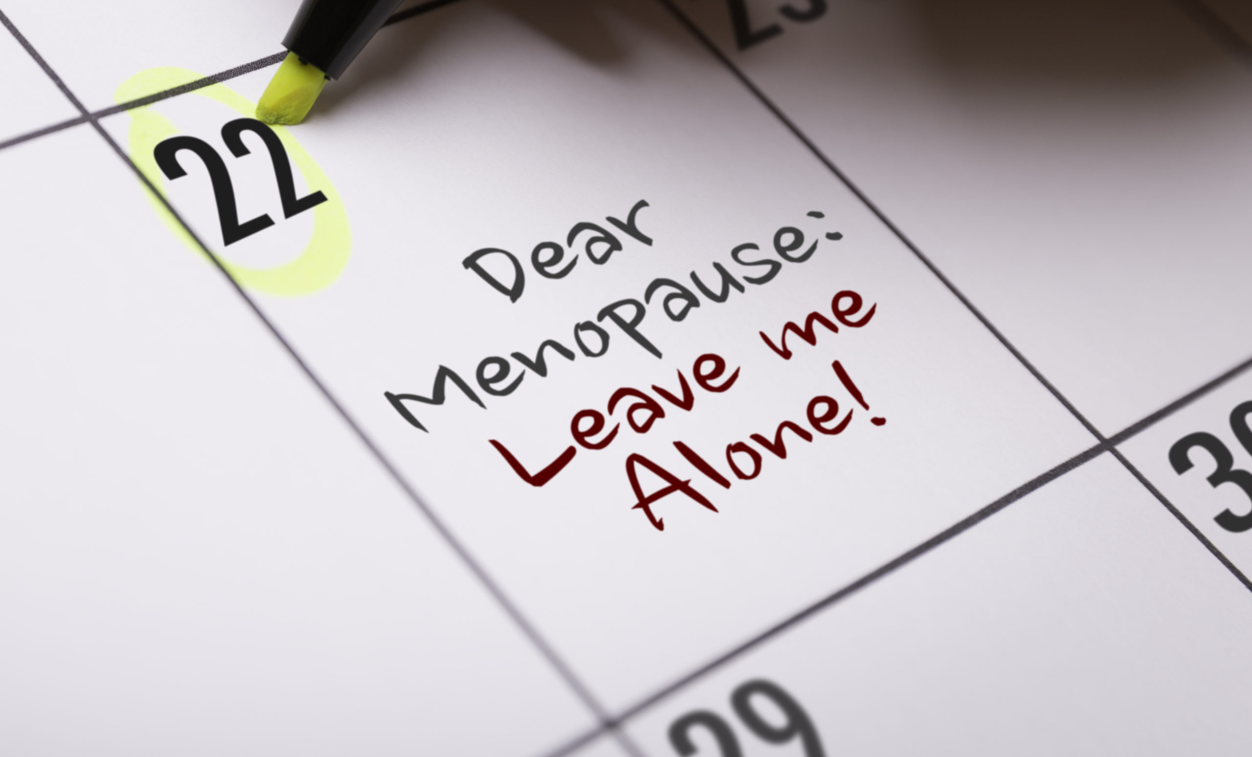 Give Menopause Symptoms The BOOT!!